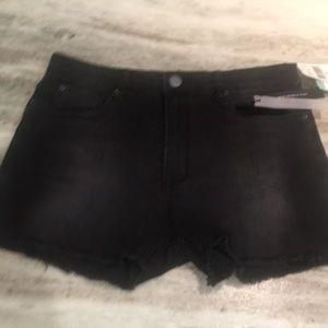 STS Blue Black denim shorts Stitch Fix NWT
